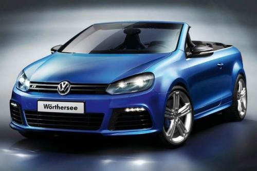 Volkswagen Golf R зарядили и превратили в кабриолет