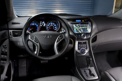 Дебют Hyundai elantra купе