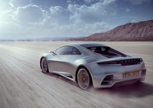 Lotus разрабатывает собственный двигатель.