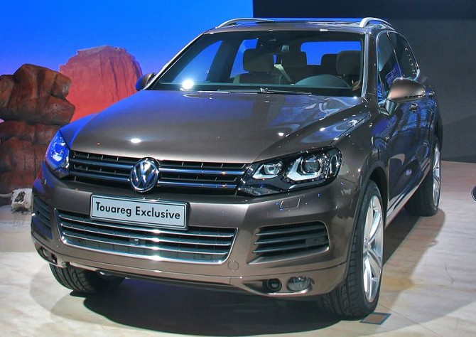 Volkswagen Touareg - техническая характеристика моделей первого и второго поколения.