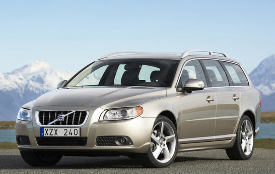 Volvo v70 приобрел более мощную платформу