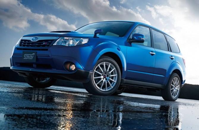 Лидер продаж в России Subaru Forester