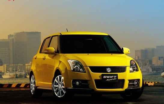 Suzuki Swift Sport - автомобиль 2012 года