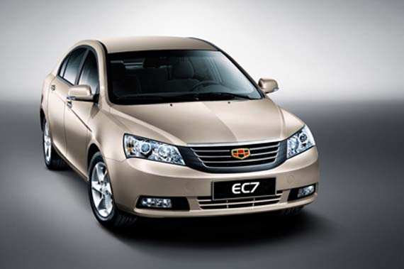 Emgrand EC7 - премиум-бренд от Geely