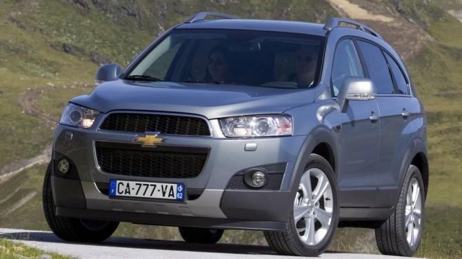 Обзор Chevrolet Captiva