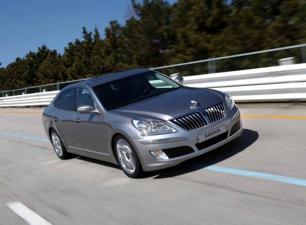 Корейское чудо, или элегантный Hyundai Equus не хуже Lexus LS!