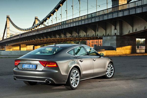 Audi A7 – самый длинный седан после А8