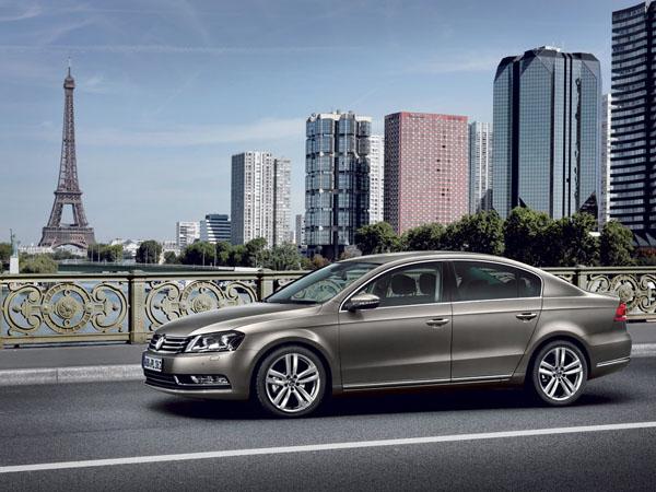 Volkswagen Passat создан для езды с повышенным комфортом