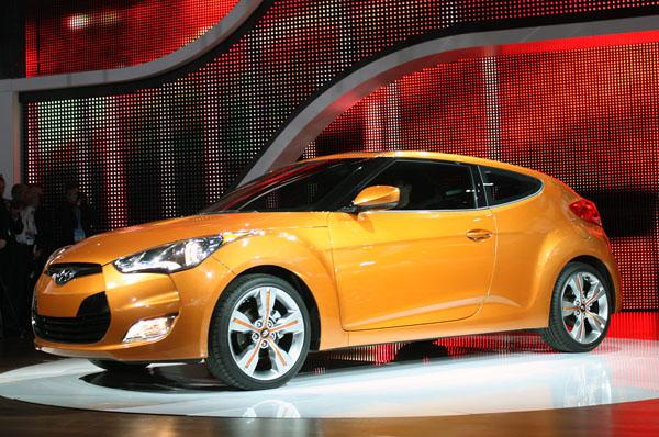 Hyundai Veloster – элегантное купе от корейского автопроизводителя