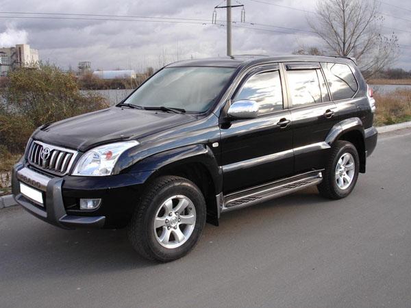 Toyota Land Cruiser Prado удивил удобством и комфортом