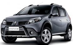 Renault Sandero Stepway – по внешнему виду напоминает кроссовер