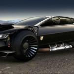 Форд представил концепцию автомобиля Безумный Макс 2012