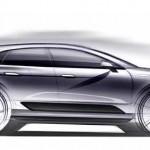 Первые зарисовки SUV Macan от Porsche