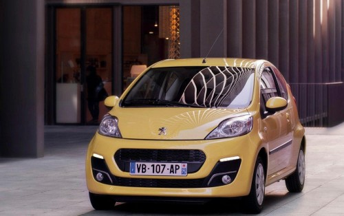 Peugeot 107 обзор
