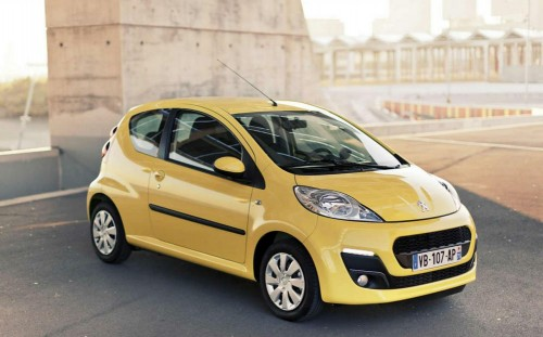 Peugeot 107 характеристики