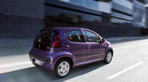 Peugeot 107 цены