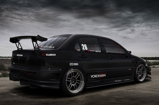 mitsubishi evolution 9
