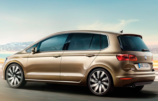 Внешний вид VW Golf Sportsvan