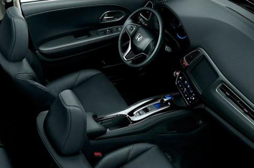 Салон Хонда Везел 2014