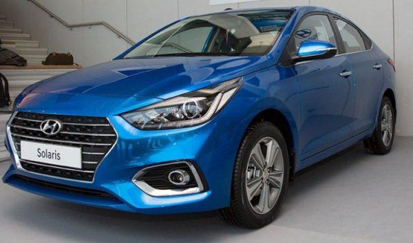 Экстерьер Hyundai Solaris