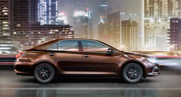 Новая Тойота Камри 2017 года рестайлинг