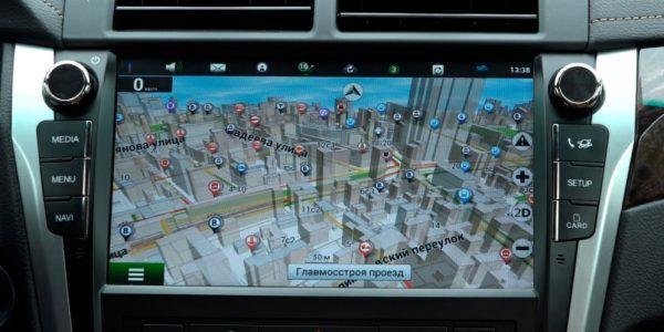 мультимедиа новой Toyota Camry 2017