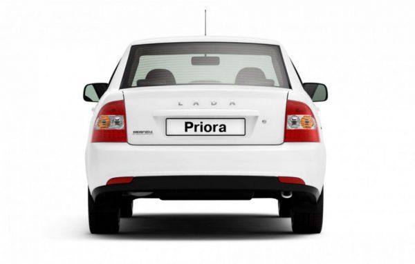 Внешний вид автомобиля Lada Priora