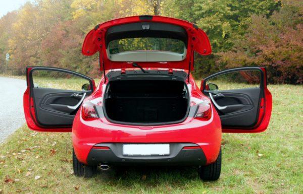Технические характеристики Opel Astra J