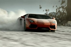 Lamborghini Aventador видео
