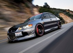 Mitsubishi lancer evolution 9 — описание, видео.